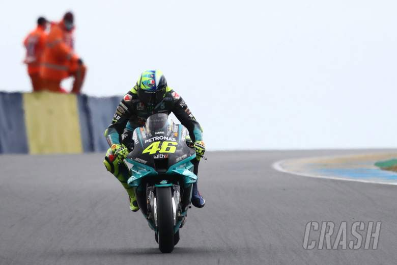 Valentino Rossi , French MotoGP. 14 May 2021