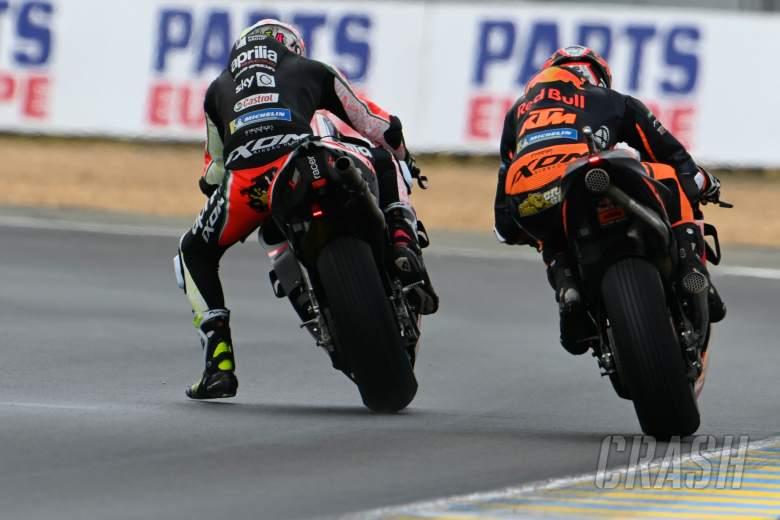 Aleix Espargaro, Brad Binder, MotoGP, French MotoGP 15 May 2021
