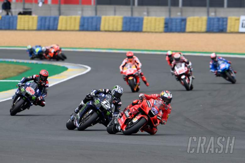 Jack Miller first laps, French MotoGP race, 16 May 2021