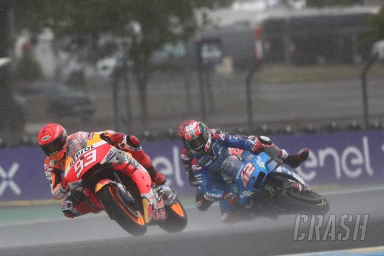 Marc Marquez, Alex Rins crashes, MotoGP Race, French MotoGP, 16 May 2021