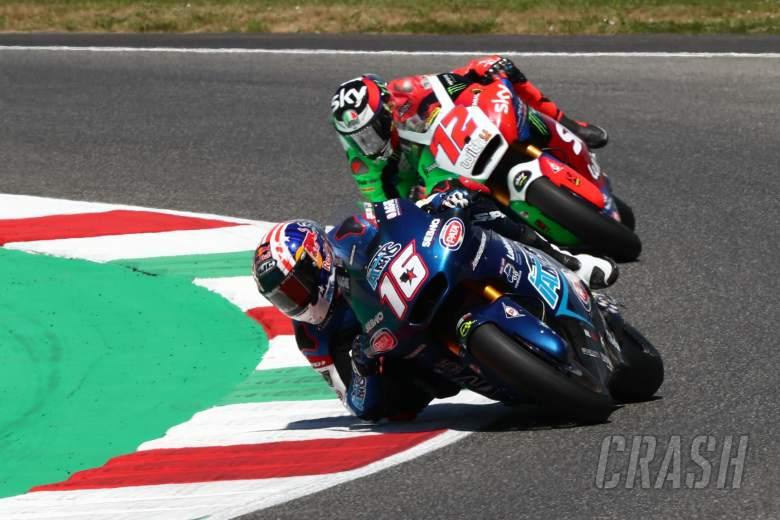 Joe Roberts, Moto2 race, Italian MotoGP race, 30 May 2021