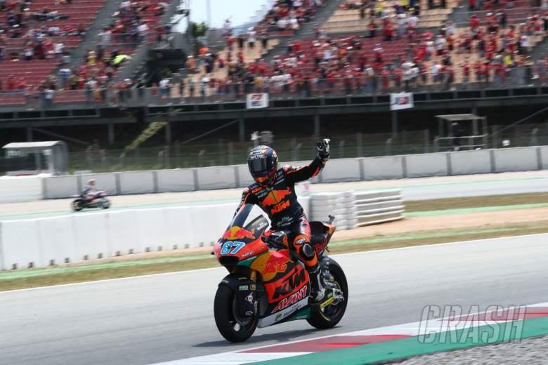 Remy Gardner, Moto2 race, Catalunya MotoGP, 6 June 2021