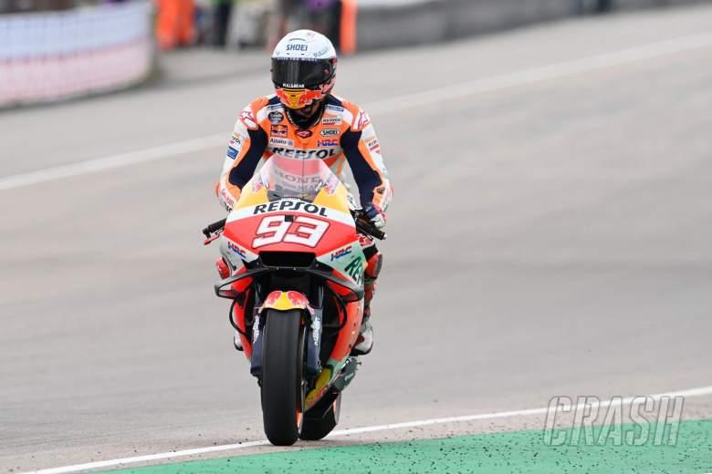 Marc Marquez, German MotoGP race, 20 June 2021