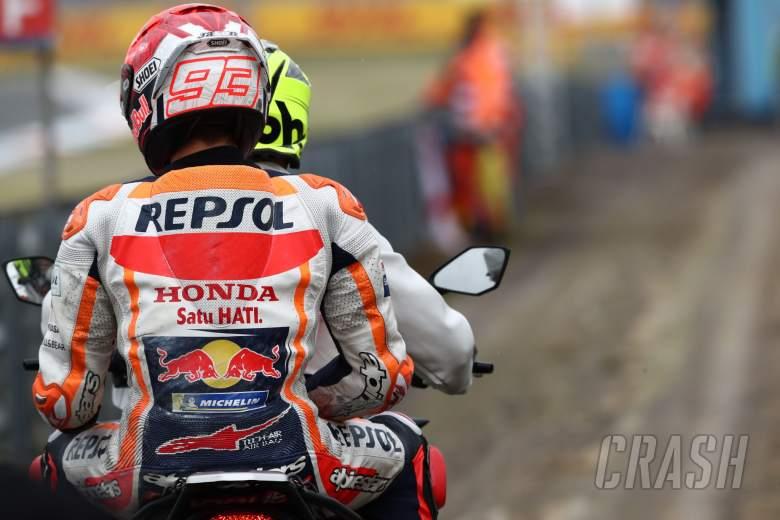 Marc Marquez after crash, Dutch MotoGP, 25 June 2021