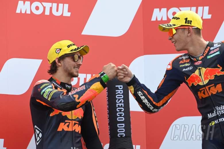 Raul Fernandez, Remy Gardner, Moto2 race, Dutch MotoGP, 27 June 2021