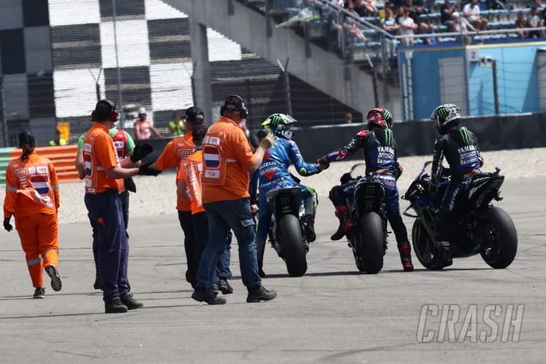 Fabio Quartararo race, Dutch MotoGP race, 27 June 2021