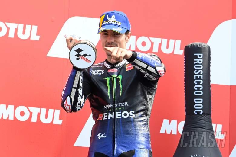Maverick Vinales, Dutch MotoGP race, 27 June 2021