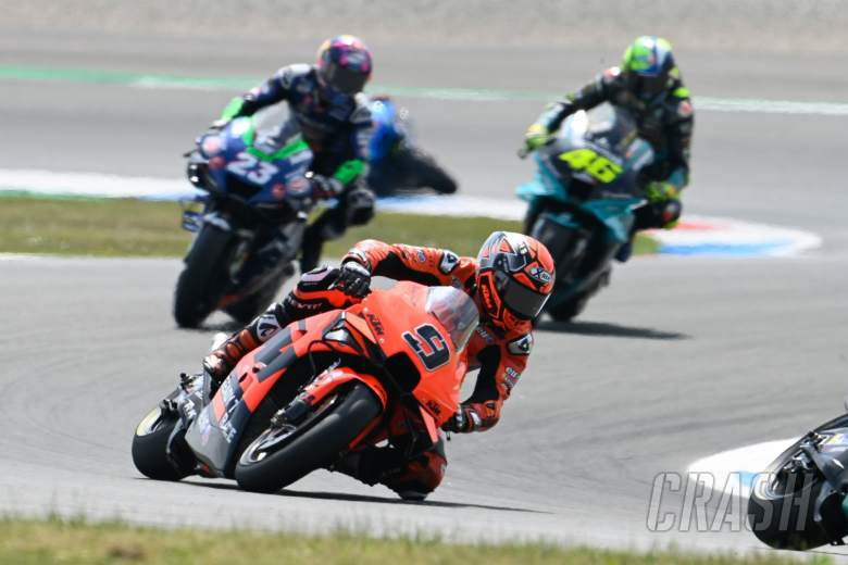 Danilo Petrucci, Dutch MotoGP race, 27 June 2021