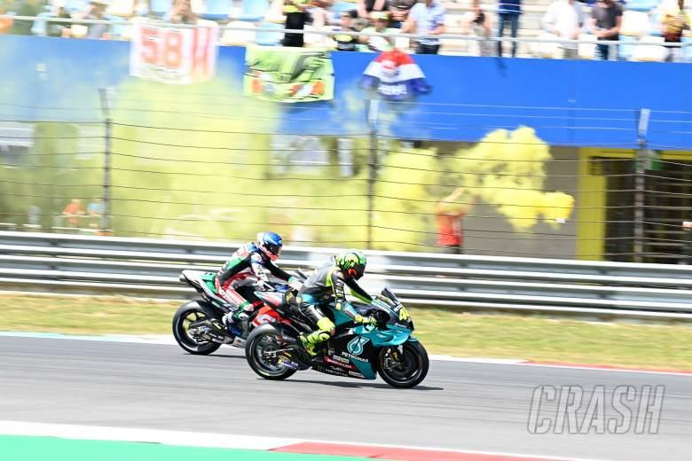 Valentino Rossi, Dutch MotoGP race, 27 June 2021