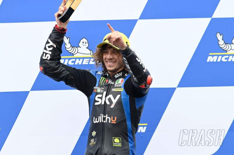 Marco Bezzecchi race, Moto2 race, Styria MotoGP, 8 August 2021