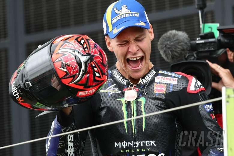Fabio Quartararo MotoGP race, British MotoGP, 29 August2021