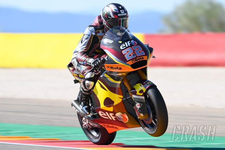 Sam Lowes, Moto2, Aragon MotoGP, 10 September 2021