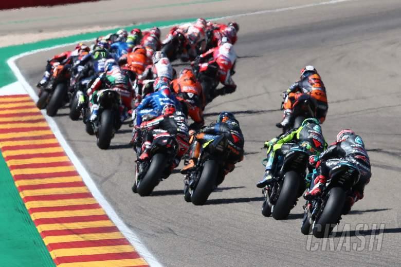2021年9月12日,阿拉贡摩托车大奖赛,Francesco Bagnaia比赛开始