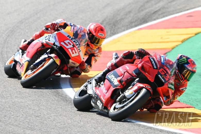 Francesco Bagnaia, Aragon MotoGP race, 12 September 2021