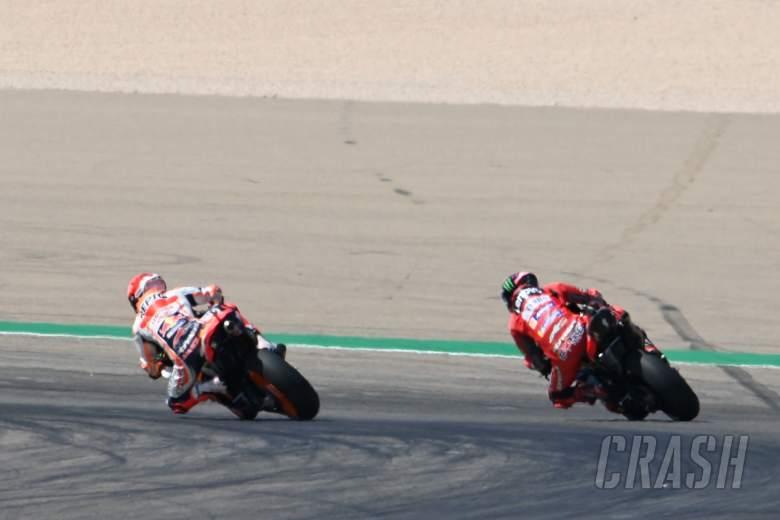 Marc Marquez, Aragon MotoGP race, 12 September 2021