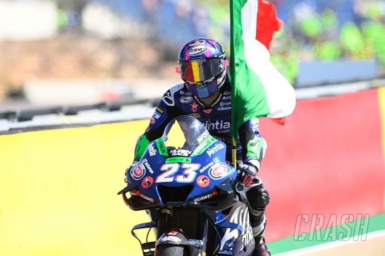 Enea Bastianini, Aragon MotoGP race, 12 September 2021