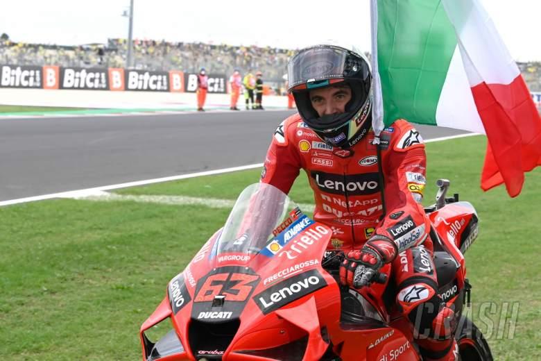 Francesco Bagnaia, MotoGP race, San Marino MotoGP 19 September 2021