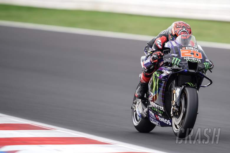 Fabio Quartararo Misano MotoGP test, 21-22 September 2021