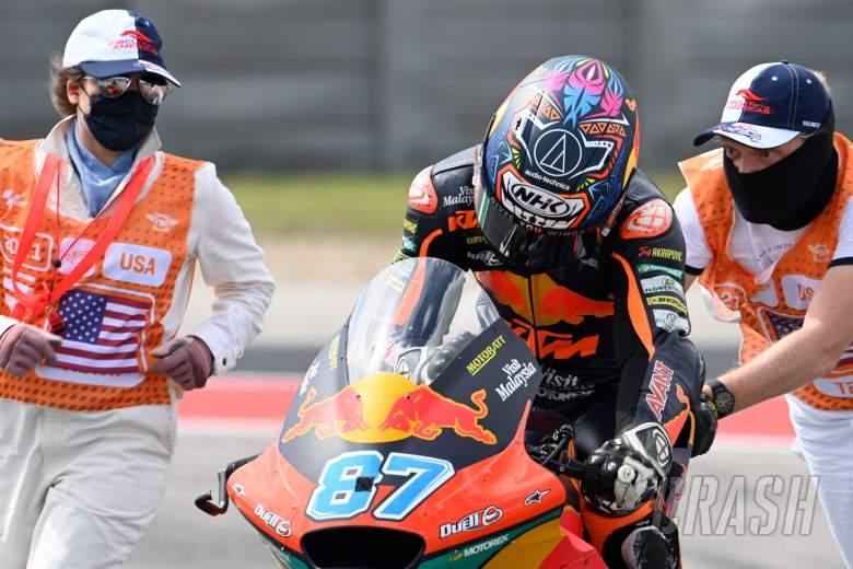 Remy Gardner, Moto2 race, Grand Prix of the Americas, 3 October 2021