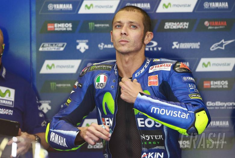 Yamaha rider Valentino Rossi breaks leg in crash