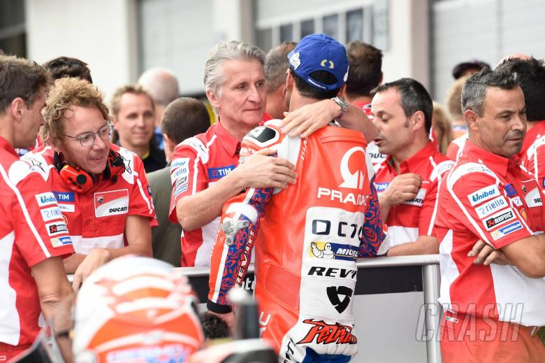 Ducati pleased if Petrucci stays in MotoGP, even as a rival