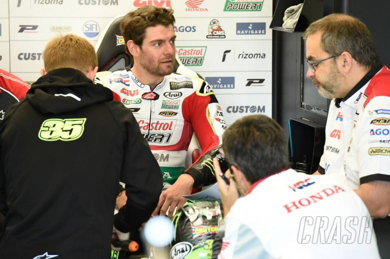 Knife injury for Crutchlow