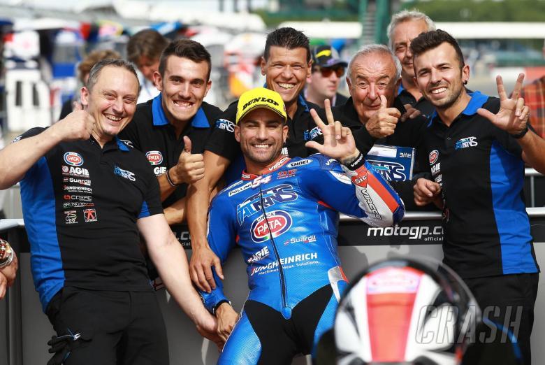 MotoGP: Moto2 Silverstone: Pole hat-trick for Pasini