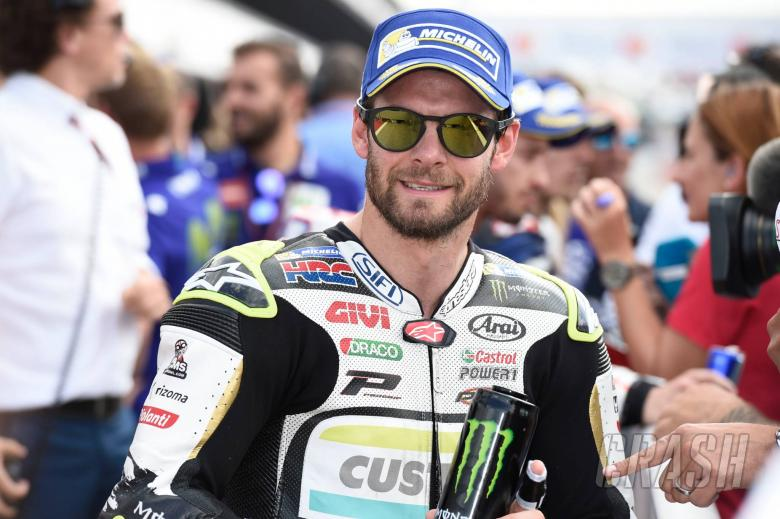 Crutchlow 'feeling good and competitive', has 'top five pace'