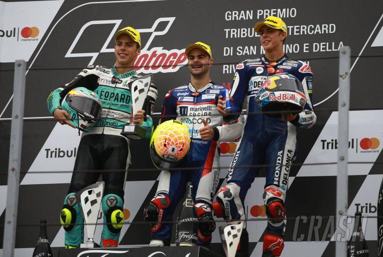 MotoGP: Misano Moto3: Fenati wins with wet masterclass