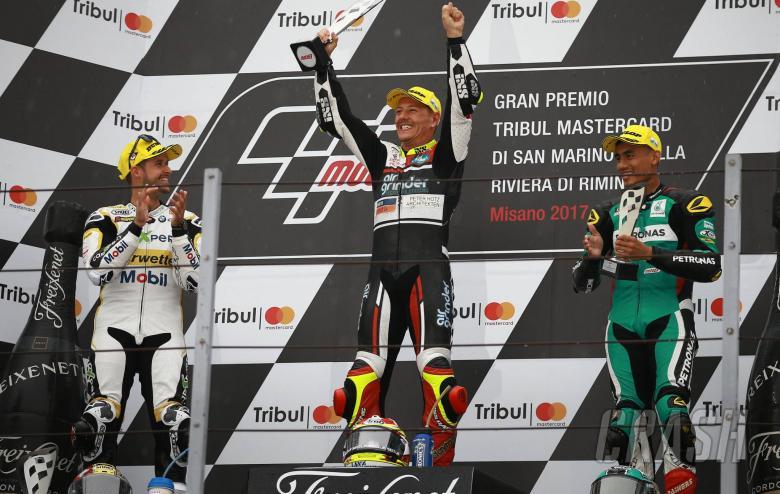MotoGP: Moto2: Aegerter stripped of Misano victory