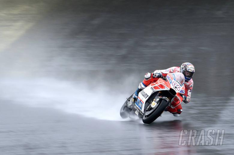 MotoGP: Dovizioso surprised by pace in wet