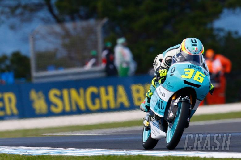 MotoGP: Moto3 Australia - Free Practice (2) Results