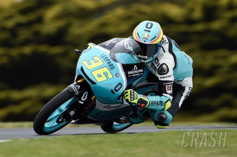 MotoGP: Moto3 Australia - Free Practice (3) Results