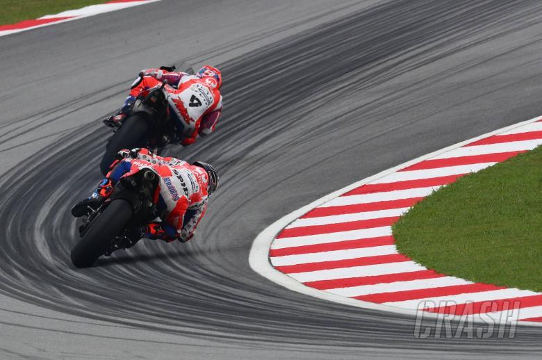 MotoGP: Redding, Petrucci talk team orders