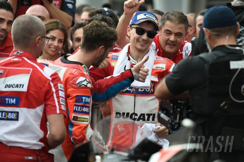 Ducati team orders: 'We spoke to both riders...'