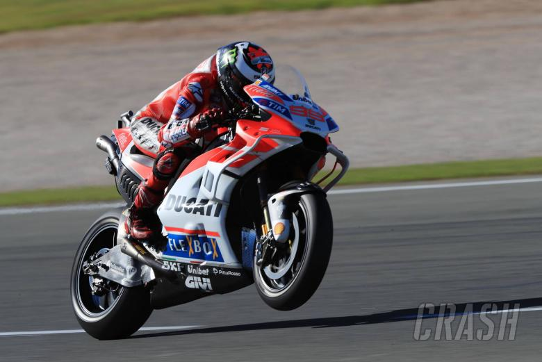 Lorenzo sets Friday pace at Valencia, Marquez falls