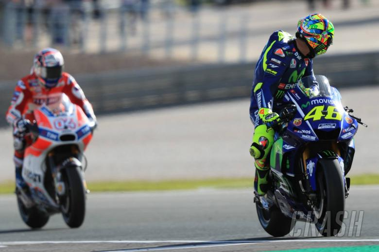 MotoGP: Rossi: 'Dovizioso is a very good story'