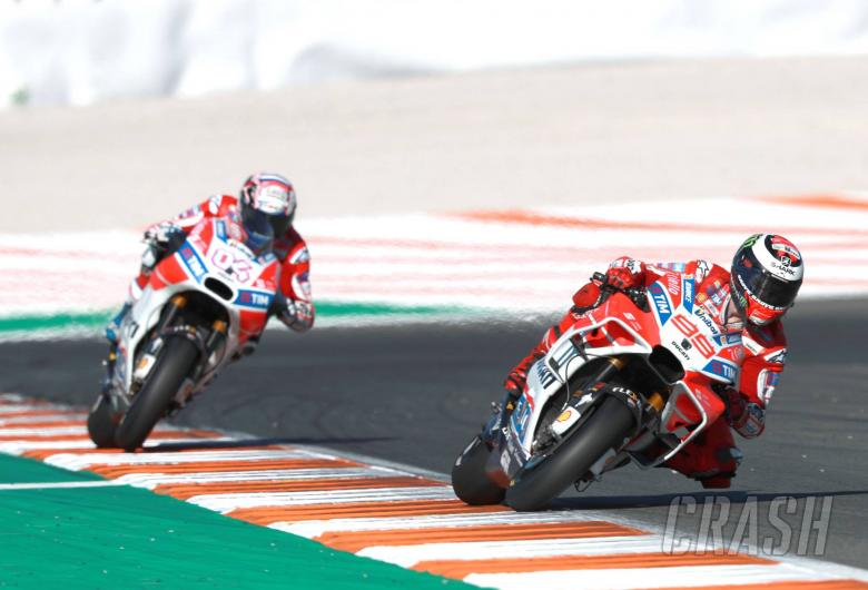 MotoGP: MotoGP Gossip: Same chassis for Dovizioso and Lorenzo?
