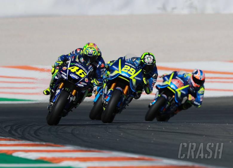 Valencia Motogp Rossi Raced 2016 Chassis It Was Better But News