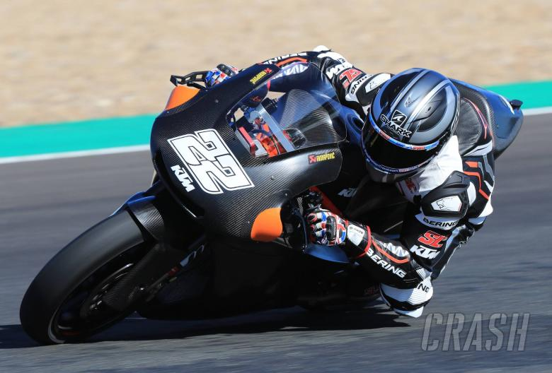 MotoGP: PICS: Lowes, Kent, Barbera test for 2018 teams