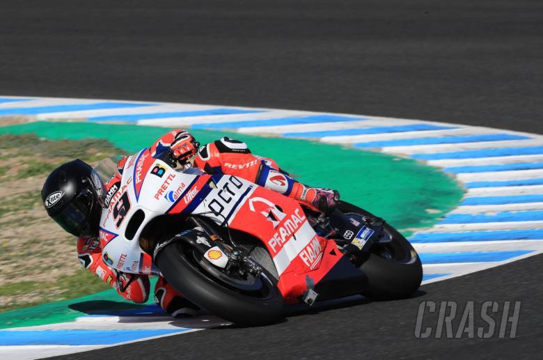 MotoGP: Petrucci plays with brake/throttle technique