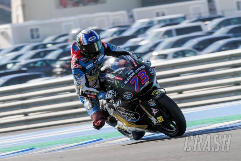 MotoGP: Jerez Moto2 test times - Wednesday