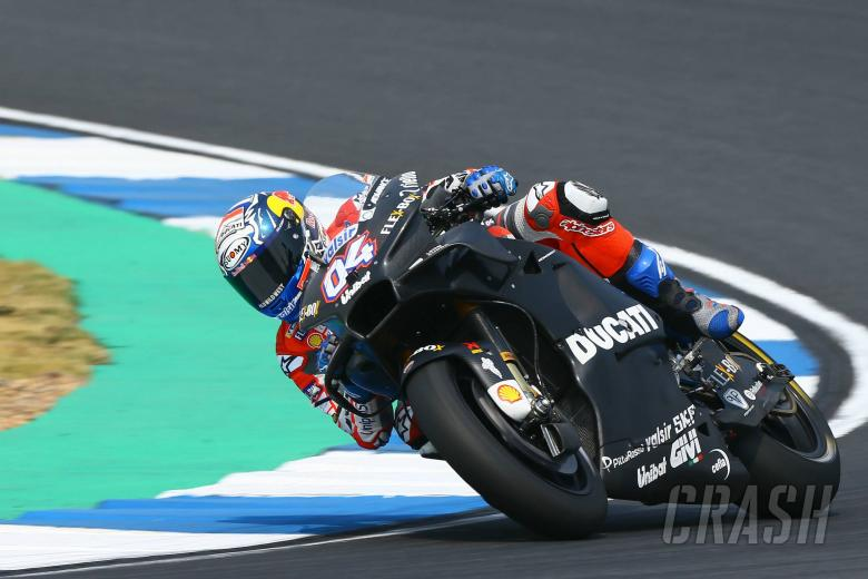 MotoGP: No chassis gains but Dovizioso 'really happy'