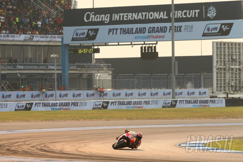 MotoGP: Marquez 'excited' to race in Thailand, title nears