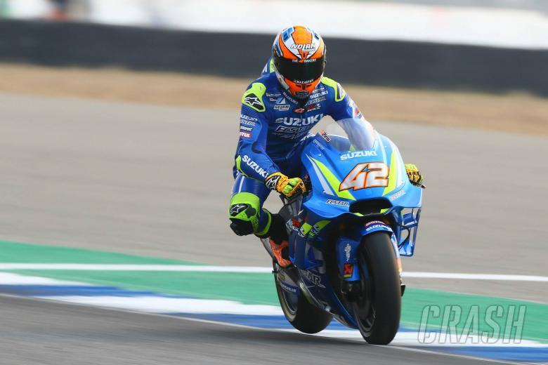 Rins '100% sure' Suzuki has strong potential