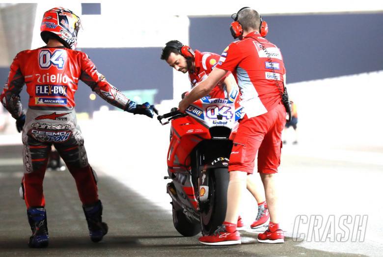 MotoGP: Qatar MotoGP Test - Friday LIVE! | News | Crash