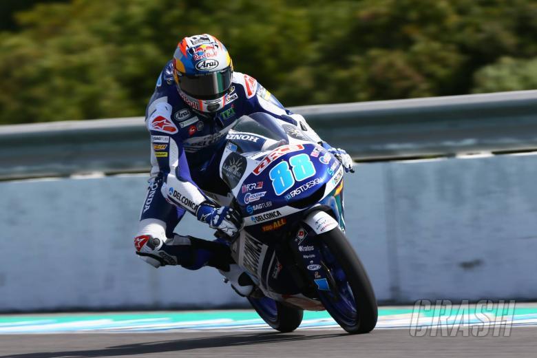 MotoGP: Jerez Moto3 test times - (Combined)