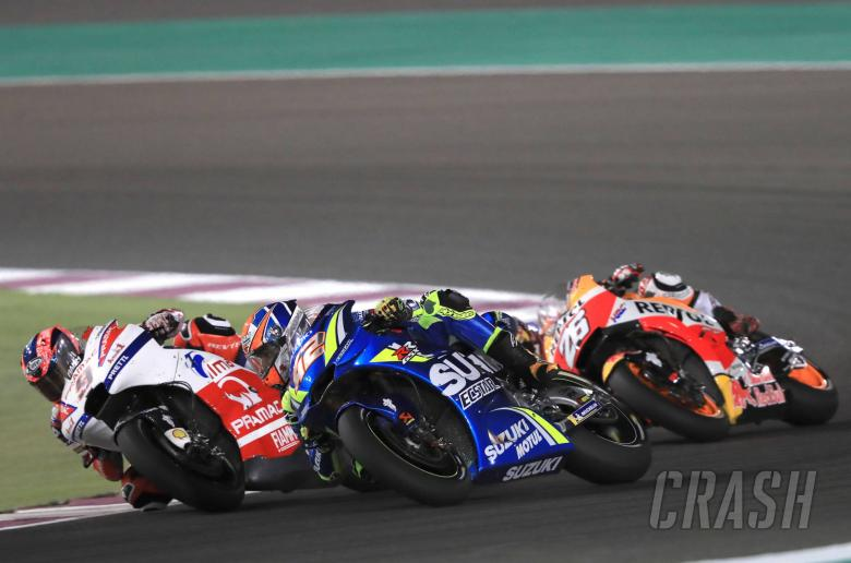 MotoGP: 'Angry' Rins goes down fighting