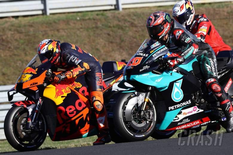 Pol Espargaro , Fabio Quartararo , French MotoGP. 10 October 2020