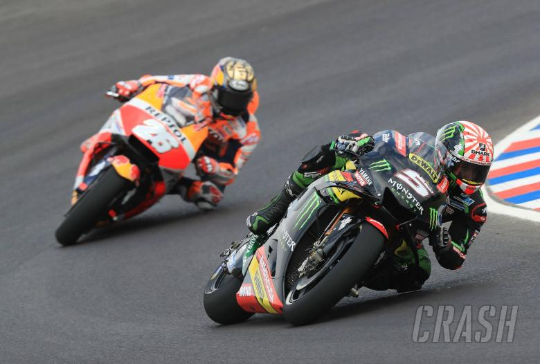 MotoGP: Zarco explains Pedrosa clash, blames wet patches